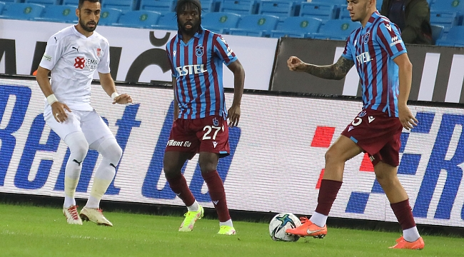 Trabzonspor'dan müthiş başlangıç