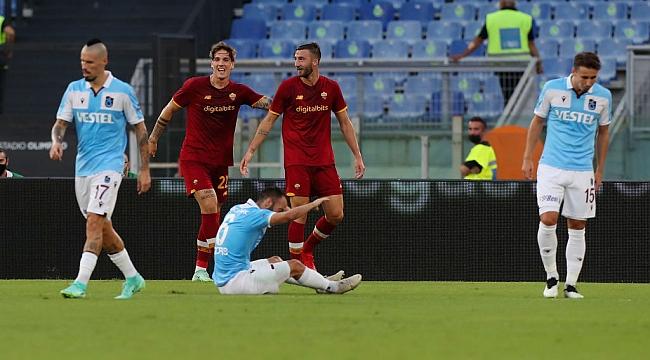 Trabzonspor Roma'da direnemedi