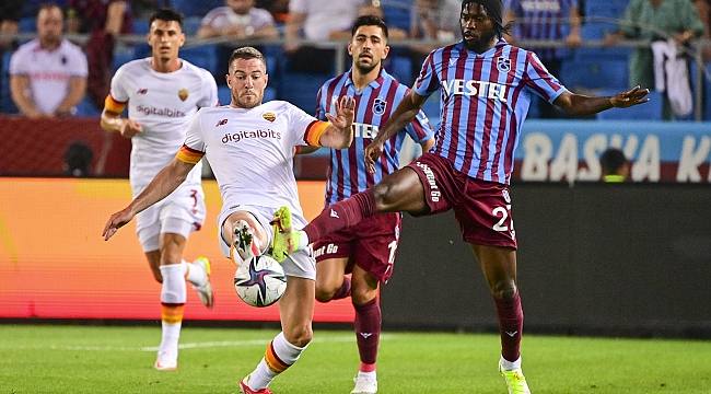 Trabzonspor, Roma'yı geçemedi