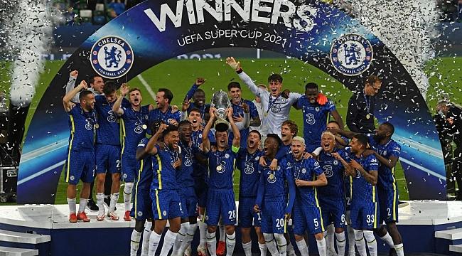 UEFA Süper Kupa Chelsea'nin