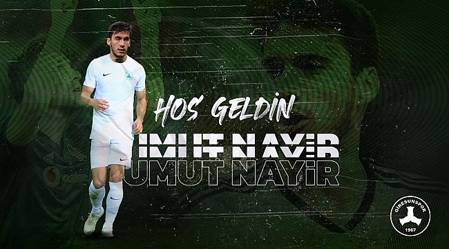 Umut Nayir Giresunspor'a transfer oldu
