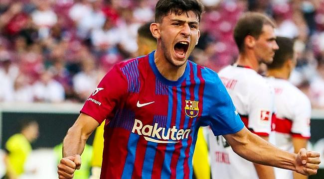 Yusuf Demir, Barcelona'daki ilk golüne imza attı
