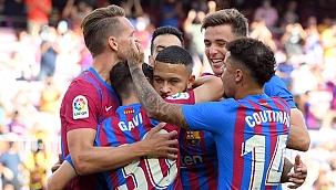 Barcelona'nın hasreti 3 golle sona erdi!