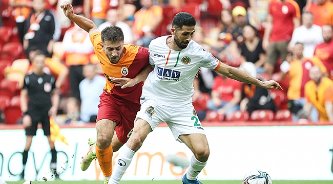 Galatasaray'a Alanyaspor darbesi