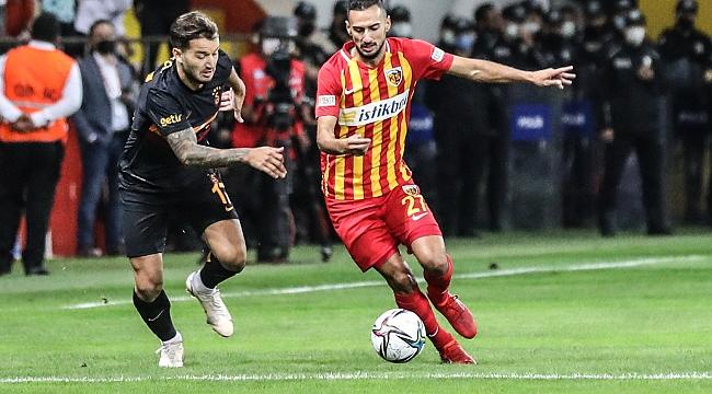 Galatasaray, Kayseri'de ağır yaralı!