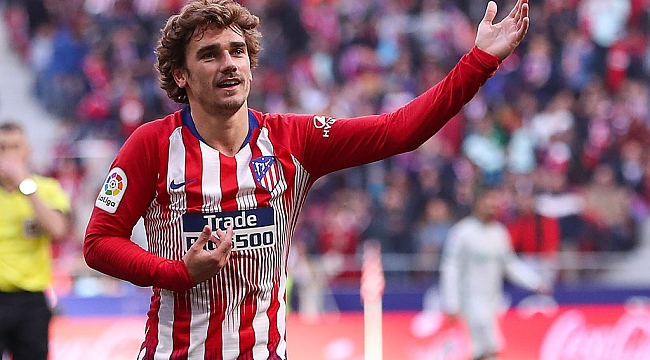 Griezmann yuvasına döndü; Atletico Madrid