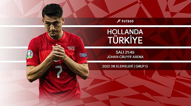 Hollanda - Türkiye muhtemel 11'ler