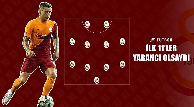 İlk 11'ler yabancı olsaydı #Galatasaray