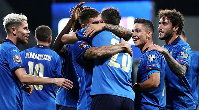 İtalya 5 golle rekoru kırdı!