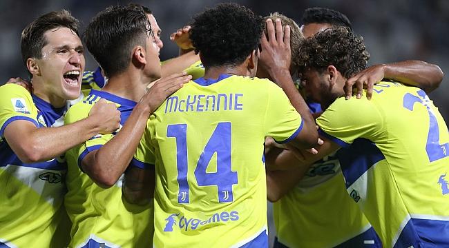 Juventus, Serie A'da ilk galibiyetini aldı!