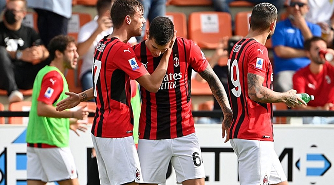Maldini ve Diaz attı, Milan 3 puanı 86'da aldı