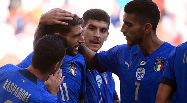 Dev maçta kazanan İtalya!