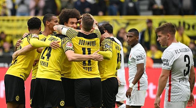 Dortmund evinde hata yapmadı! 3 gollü zafer