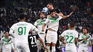 Juventus, Sassuolo karşısında 90+5'te yıkıldı!