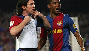 Eto'o'ya anlattı; Messi ve Ronaldo'suz El Clasico!