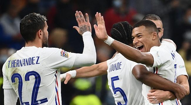 Uluslar Ligi'de şampiyon Fransa
