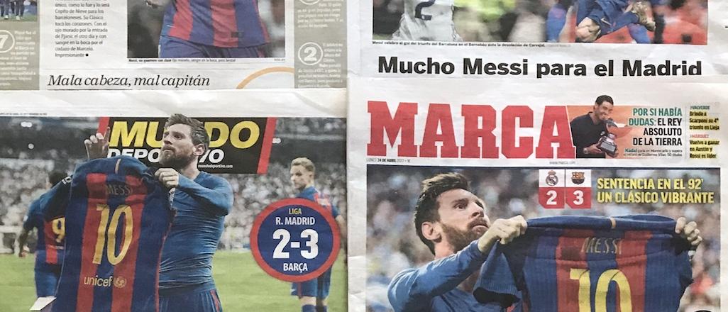 Dünya Messi'yi konuşuyor