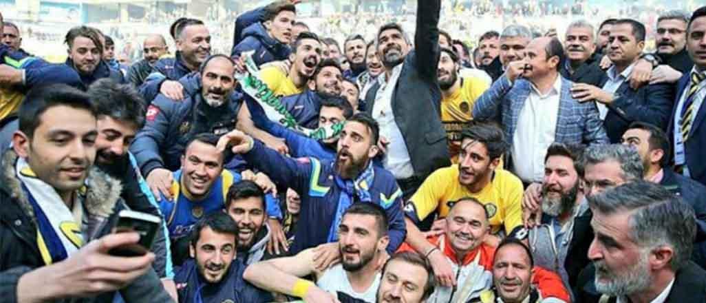 Erciyes'i yenen Ankaragücü 1. Lig'de