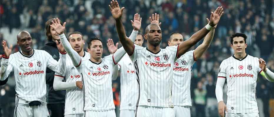 En karlı Avrupalı Beşiktaş