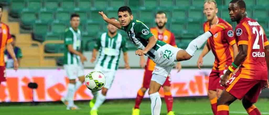 Galatasaray Bursa'da kritik virajda