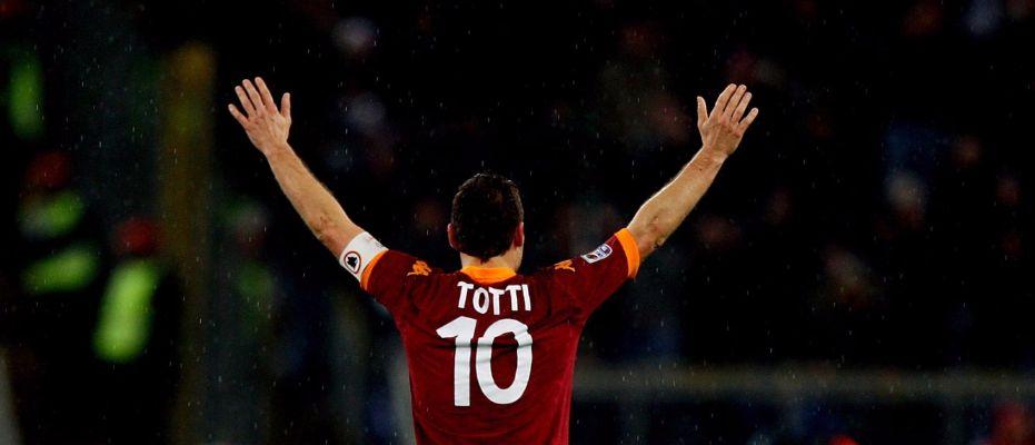 Francesco Totti'den asırlık rekabete buruk veda