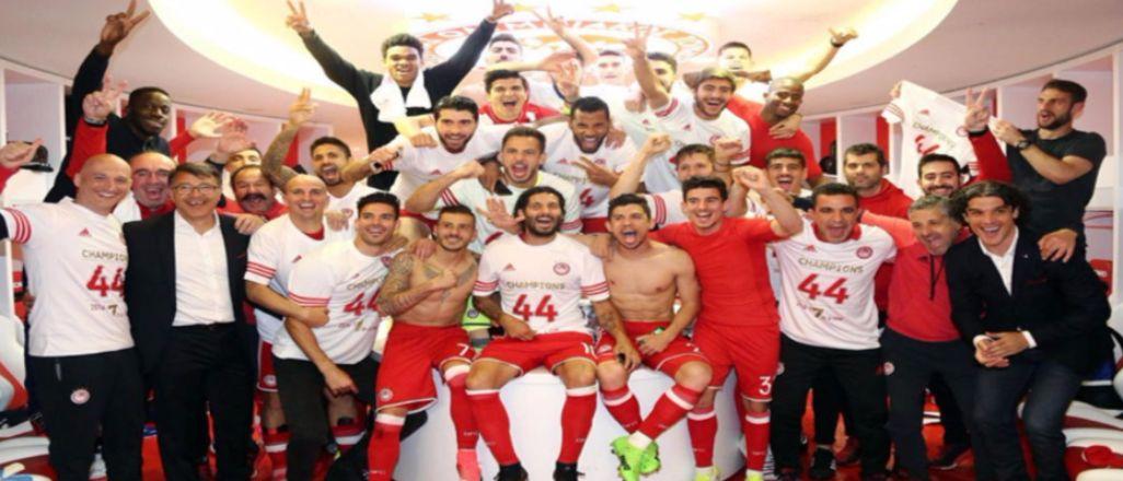 Olympiakos üst üste 7.kez şampiyon