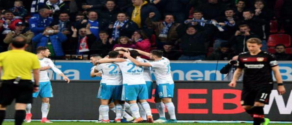 Leverkusen bozguna uğradı