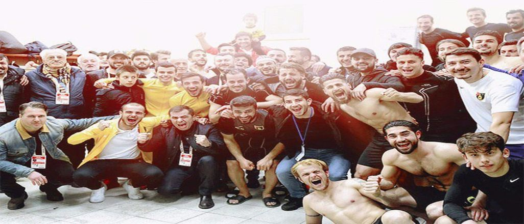İstanbulspor TFF 1.Lig'e yükseldi