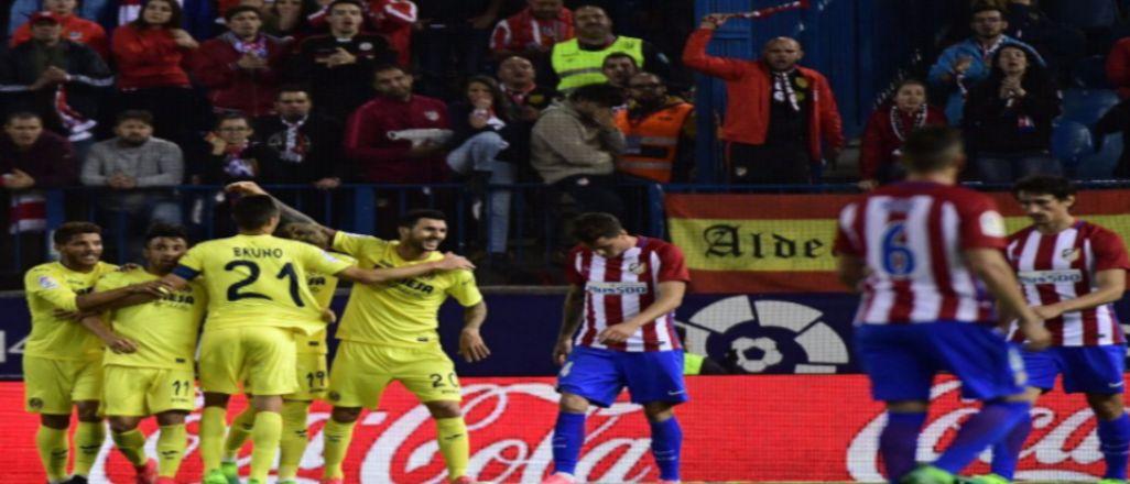 Atletico oynadı Villarreal kazandı