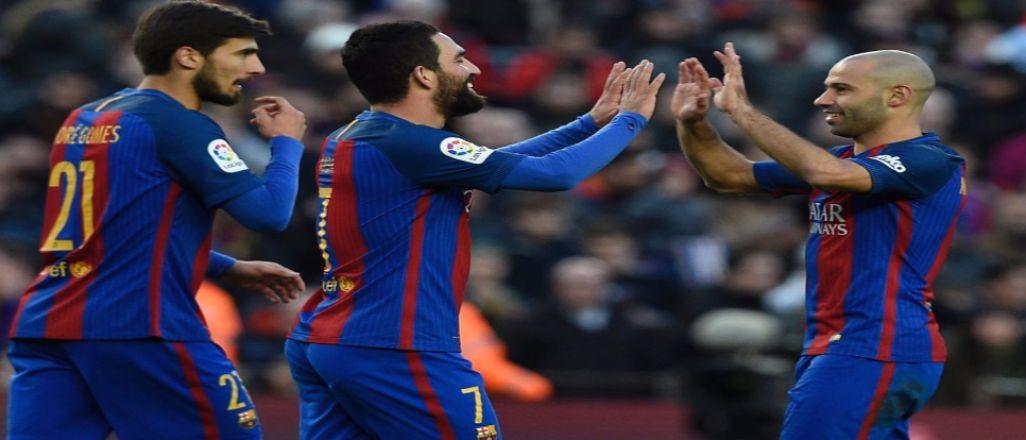 Barcelona acımadı