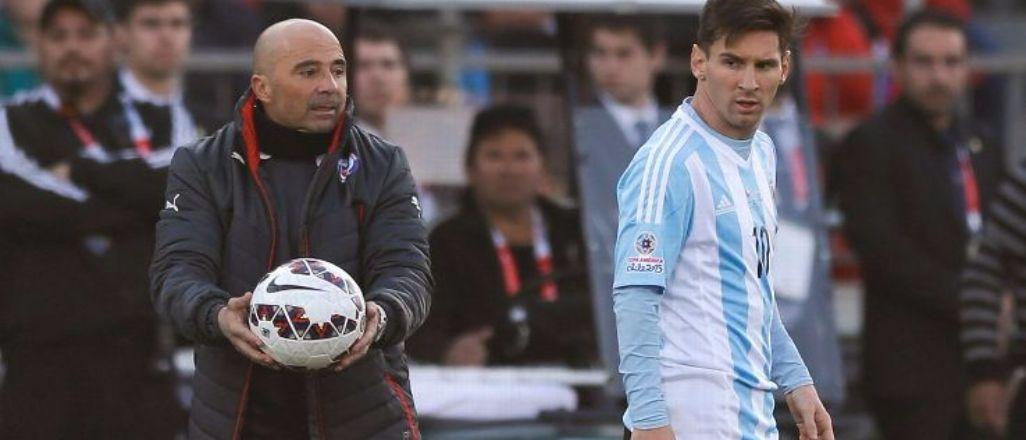 Messi'nin hocası Jorge Sampaoli olabilir