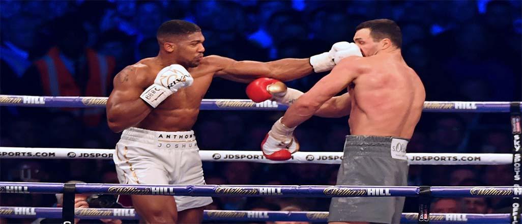 Joshua Klitschko'yu nakavt etti