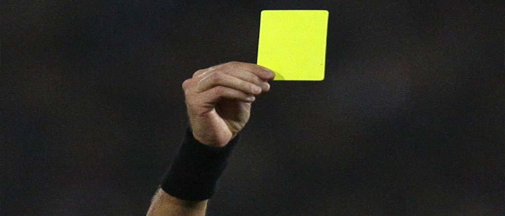 Fenerbahçe'ye derbi öncesi kart uyarısı