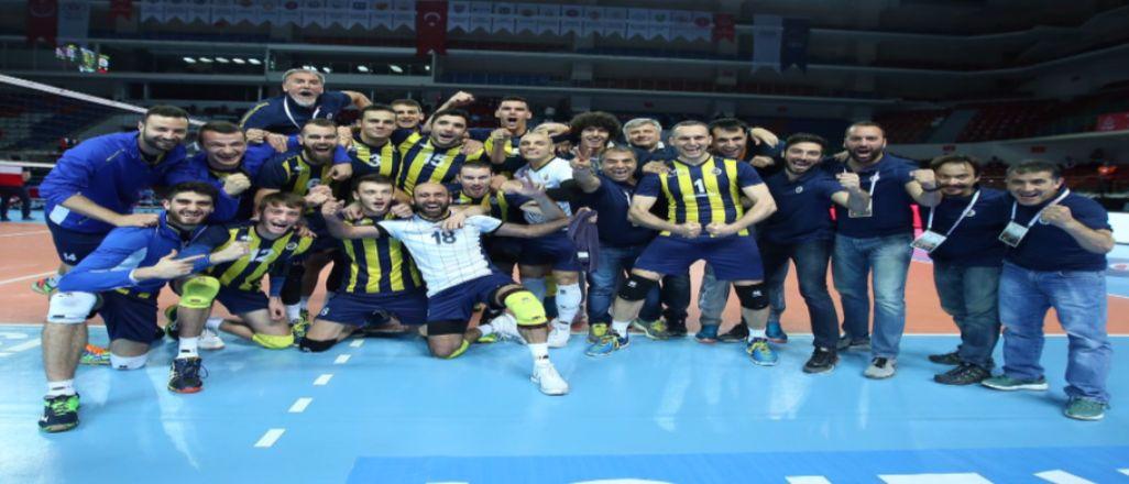 Fenerbahçe CEV Şampiyonlar Ligi'nde