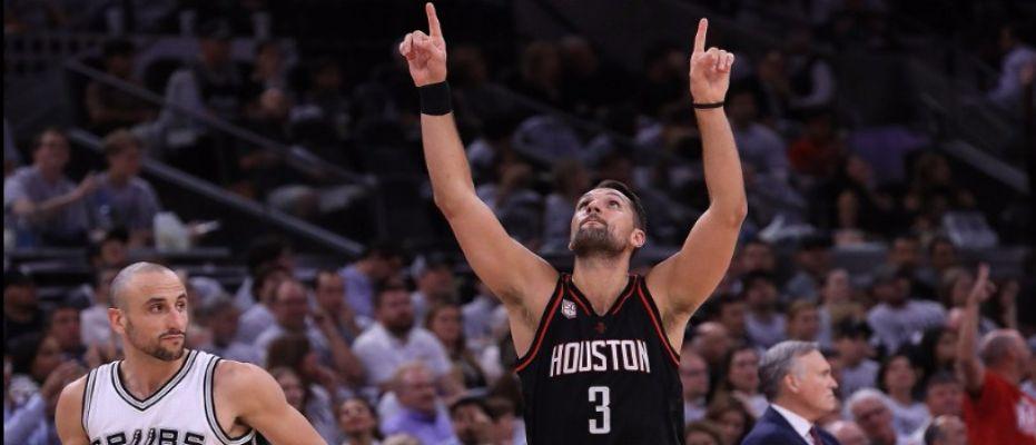 Rockets Spurs'ü üçlüklerle devirdi