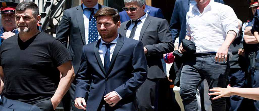 Lionel Messi'ye şok hapis cezası