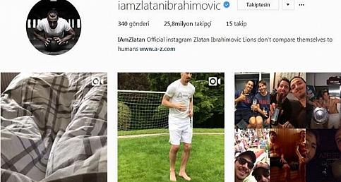Zlatan Ibrahimovic'in ayrılığın ardından ilk tepkisi