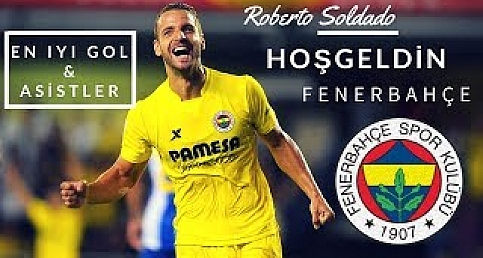 Fenerbahçe'nin yeni forveti Roberto Soldado'yu tanıyalım