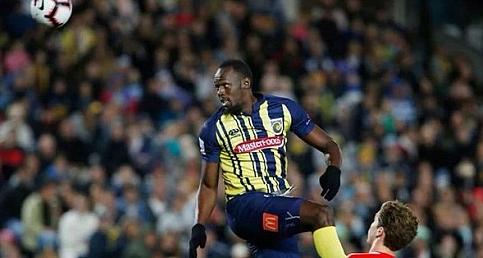 Usain Bolt ilk gollerini kaydetti