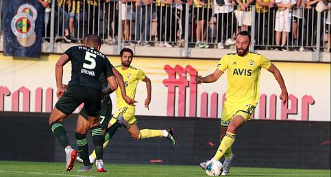 Fenerbahçe - Wolfsburg maçının özeti